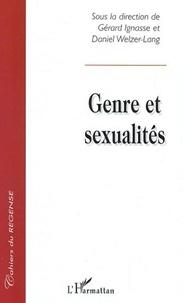 Gérard Ignasse et Daniel Welzer-Lang - Genres et sexualités.