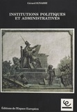 Gérard Ignasse - Institutions politiques et administratives.