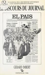 Gérard Imbert - Le discours du journal : «El Pais».
