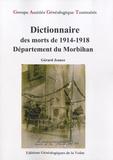 Gérard Jeance - Dictionnaire des morts de 1914-1918 - Département du Morbihan.