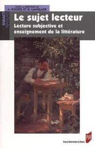 Histoiresdenlire.be Le sujet lecteur - Lecture subjective et enseignement de la littérature Image