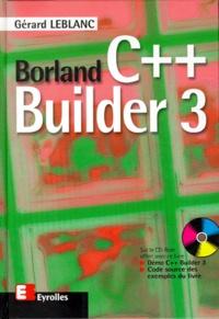 Borland C Builder 3 Avec Cd Rom Gerard Leblanc Decitre