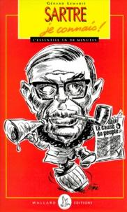 Gérard Lemarié - Sartre, je connais !.