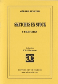 Gérard Levoyer - Sketches en stock : 6 sketches.