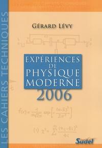 Expériences de physique moderne - Second Cycle des lycées, Classes de Mathématiques supérieures, Aide pour tous les professeurs de Physique ainsi que pour les étudiants des ENS et IUFM.pdf