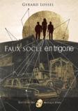 Gérard Lossel - Faux socle en trigone.