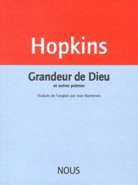 Gerard Manley Hopkins - Grandeur de Dieu - Et autres poèmes.