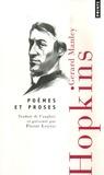 Gerard Manley Hopkins - Poèmes et proses - Edition bilingue français-anglais.