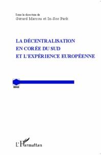 Deedr.fr La décentralisation en Corée du sud et l'expérience européenne Image