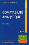 Gérard Melyon - Comptabilité analytique.