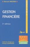 Gérard Melyon - Gestion financière 1er et 2ème cycles.