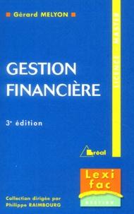 Gérard Melyon - Gestion financière - Licence-Master.