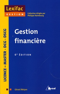 Gérard Melyon - Gestion financière.