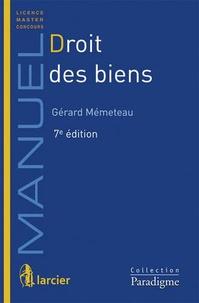 Gérard Mémeteau - Droit des biens.