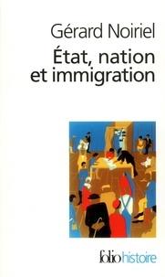 Deedr.fr Etat, nation et immigration - Vers une histoire du pouvoir Image