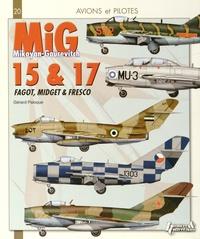 Gérard Paloque - Mikoyan-Gourevitch Mig 15 & 17 - Fagot, Midget & Fresco.