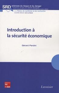 Gérard Pardini - Introduction à la sécurité économique.