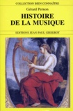 Gérard Pernon - Histoire de la musique.