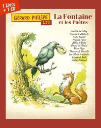 Gérard Philipe et Bruno Vacaro - Gérard Philipe lit La Fontaine et les poètes. 1 CD audio