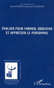 Evaluer pour former, orienter et apprécier le personnel - Gérard Pithon | Showmesound.org