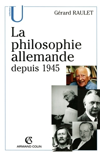 La philosophie allemande depuis 1945
