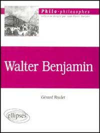 Accentsonline.fr Walter Benjamin 1892-1940 Image