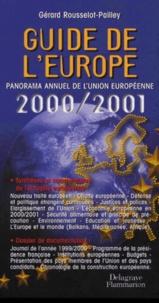 Deedr.fr Guide de l'Europe. Panorama annuel de l'Union européenne 2000-2001 Image