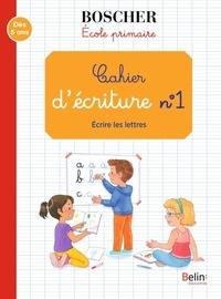 Gérard Sansey - Cahier d'écriture N° 1 - Ecrire les lettres.