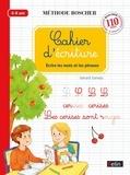 Gérard Sansey - Cahier d'écriture - Ecrire les mots et les phrases.