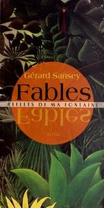 Gérard Sansey - Fables - Reflets de ma fontaine.