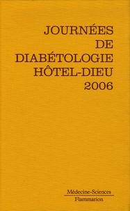 Gérard Slama - Journées de diabétologie de l'Hôtel-Dieu - 11, 12 et 13 mai 2006.