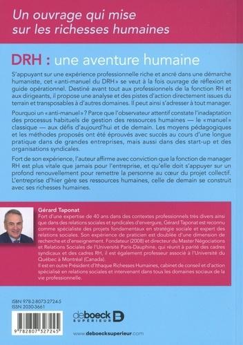 DRH, une aventure humaine. Bien plus qu'une fonction