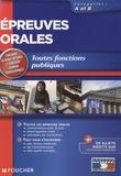 Gérard Terrien et Bruno Rapatout - Epreuves orales - Toutes fonctions publiques Catégories A et B.
