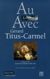 "Gérard Titus-Carmel - Au Louvre avec Gérard Titus-Carmel - ""la Raie"", 1738, Jean Siméon Chardin (1699-1779)."