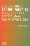 Gérard Valenduc - Pouvoirs, contre-pouvoirs et concertation sociale dans les universités.