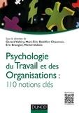 Gérard Vallery et Marc-Eric Bobillier-Chaumon - Psychologie du travail et des organisations - 110 notions clés.
