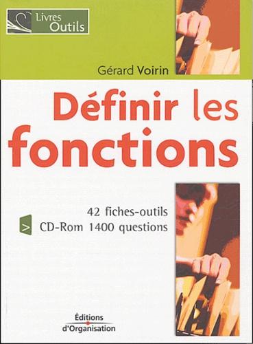 Gérard Voirin - Définir les fonctions. 1 Cédérom