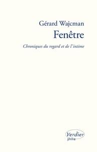 Gérard Wajcman - Fenêtre - Chronique du regard et de l'intime.