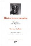 Gérard Walter - Histoire de la République - Tome 1, Tite-Live ; Salluste.