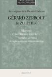 Gérard Zerbolt de Zutphen - .