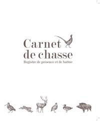 Gerfaut - Carnet de chasse - Registre de présence et de battue.