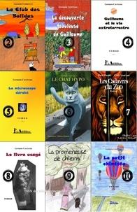 Germain Corriveau - Romans jeunesse scientifiques 1 à 10.