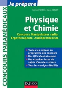 Physique et Chimie- Concours Manipulateur radio, Ergothérapeute, Audioprothésiste - Germain Weber |