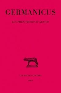Germanicus et Boeuffle andré Le - Les phénomènes d'Aratos.