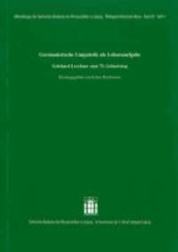 Germanistische Linguistik als Lebensaufgabe - Gotthard Lerchner zum 75. Geburtstag.