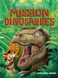 Geronimo Stilton - Le Voyage dans le Temps Tome 10 : Mission dinosaures.