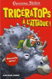 Geronimo Stilton - Sur l'île des derniers dinosaures Tome 2 : Tricératops à l'attaque !.