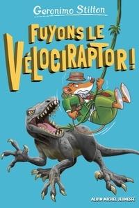 Geronimo Stilton et Davide Cesarello - Sur l'île des derniers dinosaures Tome 3 : Fuyons le vélociraptor !.