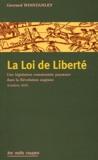 Gerrard Winstanley - La Loi de Liberté.