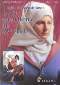 Deedr.fr La vie quotidienne au XVème siècle Image